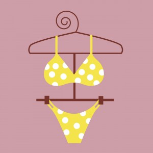 YellowPolkaDotBikini-300x300